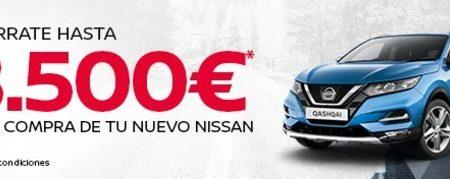 Ahórrate hasta 8.500€ DTO. en Nissan